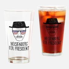 Heisenberg for President Drinking Glass