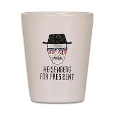 Heisenberg for President Shot Glass