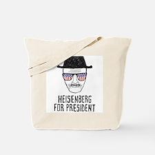 Heisenberg for President Tote Bag