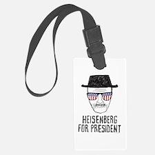Heisenberg for President Luggage Tag