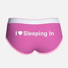 Sleeping In Women's Boy Brief