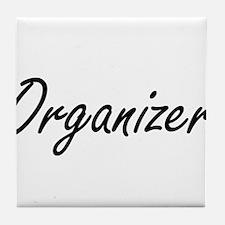 Organizer Artistic Job Design Tile Coaster
