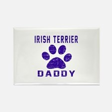 Irish Terrier Daddy Designs Rectangle Magnet