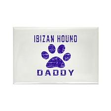 Ibizan Hound Daddy Designs Rectangle Magnet