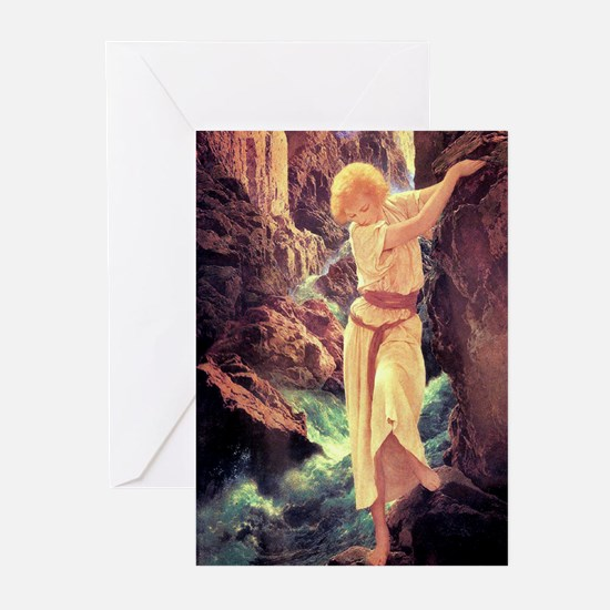 Unique Maxfield parrish Greeting Cards (Pk of 20)
