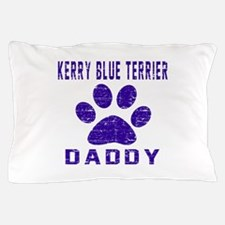 Kerry Blue Terrier Daddy Designs Pillow Case