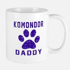 Komondor Daddy Designs Mug