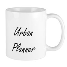 Urban Planner Artistic Job Design Mugs