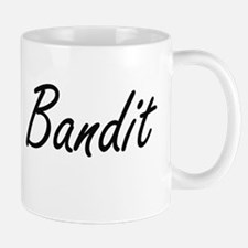 Bandit Artistic Job Design Mugs
