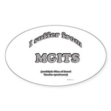 Imaal Syndrome Oval Decal