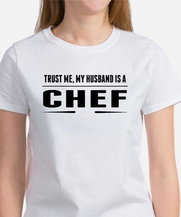 My Husband Is A Chef T-Shirt