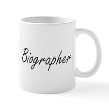 Biographer Artistic Job Design Mugs