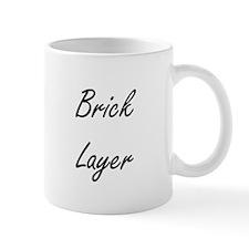 Brick Layer Artistic Job Design Mugs
