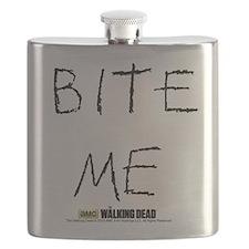 The Walking Dead Bite Me Flask