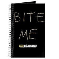 The Walking Dead Bite Me Journal