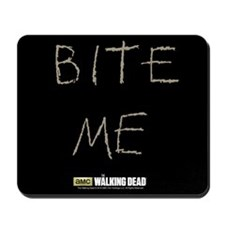 The Walking Dead Bite Me Mousepad