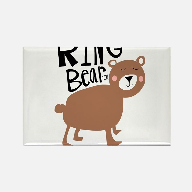 ring bear-er Rectangle Magnet