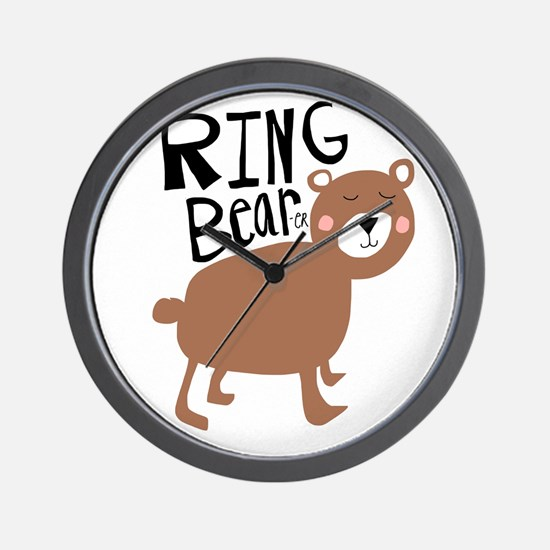 ring bear-er Wall Clock