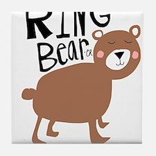 ring bear-er Tile Coaster