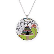 A Glamping we will go Necklace