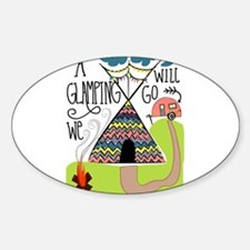 A Glamping we will go Decal