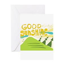 Good morning sunshine Greeting Card