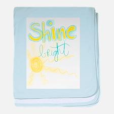 Shine Bright baby blanket