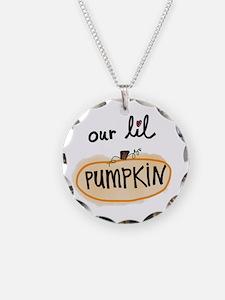 Our Lil pumpkin Necklace