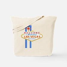 LAS VEGAS GLOW Tote Bag