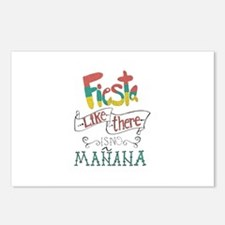 Fiesta like there is no manana Postcards (Package
