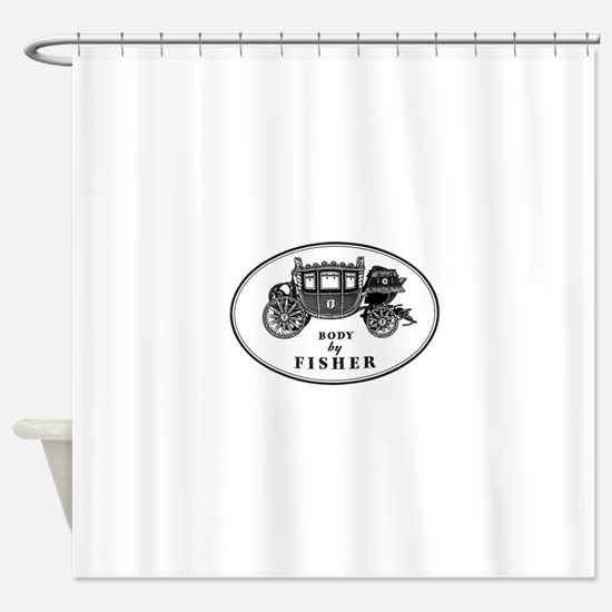 Miscellaneous Logo Shower Curtain
