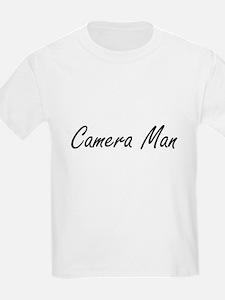 Camera Man Artistic Job Design T-Shirt