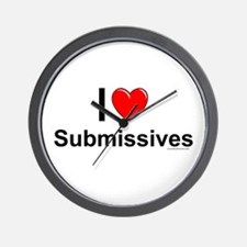 Submissives Wall Clock