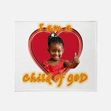 Child of God Throw Blanket