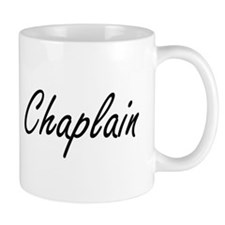 Chaplain Artistic Job Design Mugs