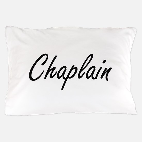 Chaplain Artistic Job Design Pillow Case