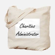 Charities Administrator Artistic Job Desi Tote Bag