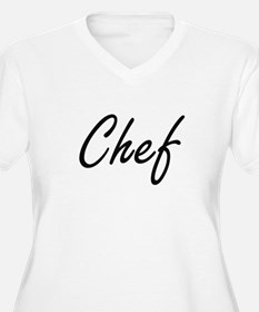 Chef Artistic Job Design Plus Size T-Shirt