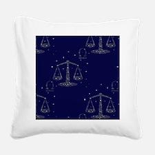 stars libra Square Canvas Pillow