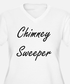 Chimney Swee Plus Size T-Shirt