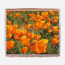 Spring Blossoms Woven Blanket