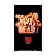 The Walking Dead Daryl Dixon Sticker (rectangle)