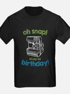 Oh Snap! 1st Birthday T-Shirt