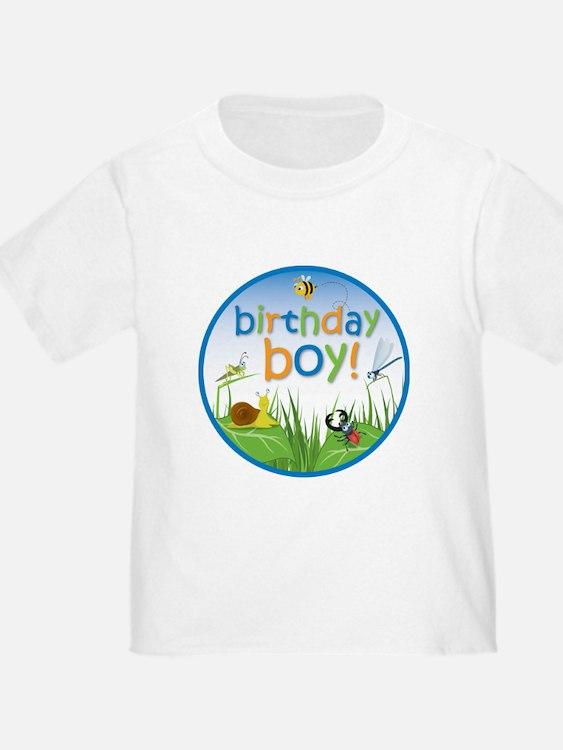 Bug Birthday Boy T-Shirt