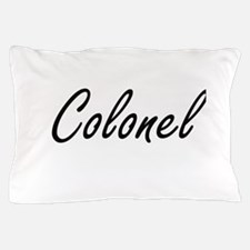 Colonel Artistic Job Design Pillow Case