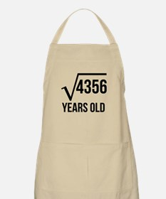 66 Years Old Square Root Apron