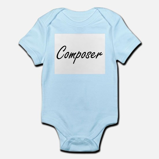 Composer Artistic Job Design Body Suit