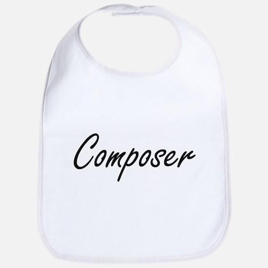 Composer Artistic Job Design Bib