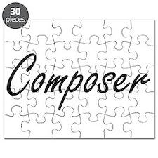 Composer Artistic Job Design Puzzle