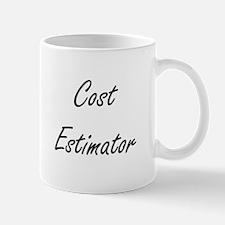 Cost Estimator Artistic Job Design Mugs